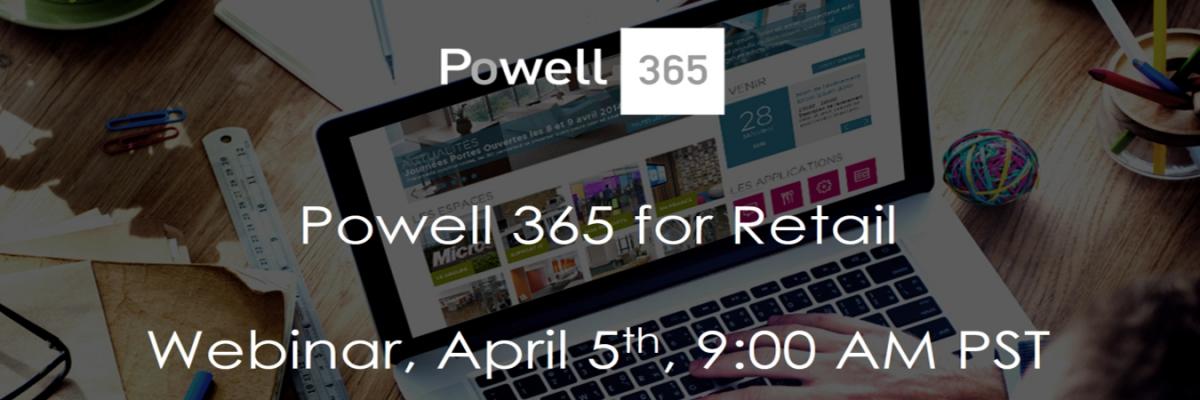 Powell 365 retail intranet