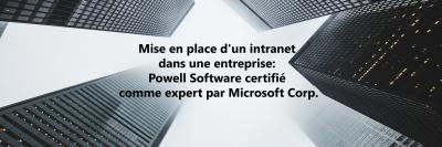 Powell Software certifiée comme expert par Microsoft Corp