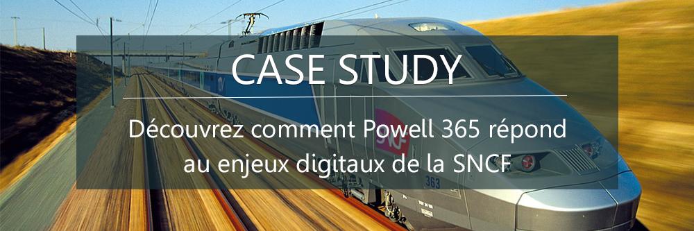 Case study SNCF enjeux digitaux
