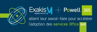 Intranet collaboratif Powell 365 partenariat Exakis