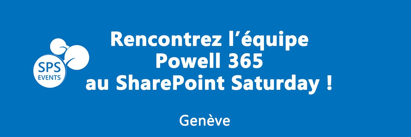 Powell 365 au SPS GENEVE 2016