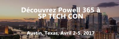 Powell 365 participe au SharePoint Tech Con Austin 2017