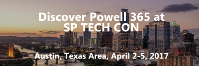 Discover Powell 365 at SP Tech Con