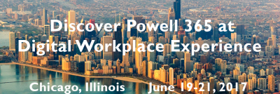 Digital Workplace Experience 2017 in Chicago