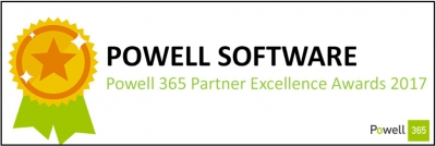 powell software powell 365 partner excellence award 2017