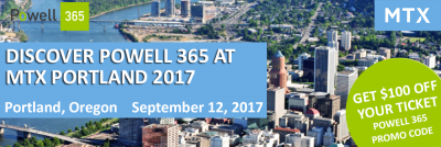 Discover Powell 365 at MTX Portland 2017