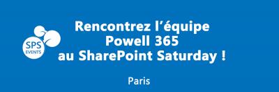 Powell 365 aux SPS Paris!