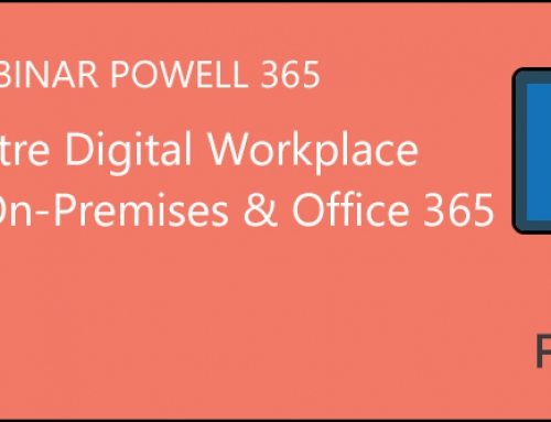 Webinar : Déployez votre Digital Workplace sous Office 365 & SharePoint on-Prem