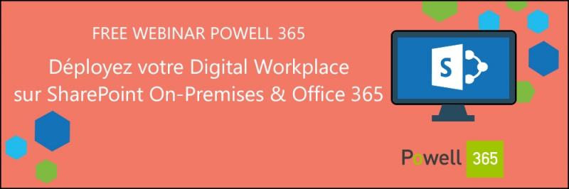 SharePoint Powell 365 webinar