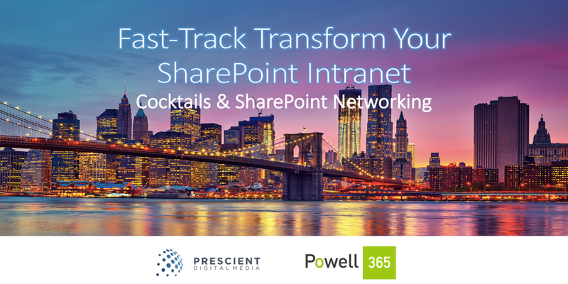Fast-Track Transform your SharePoint Intranet