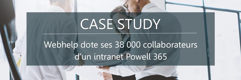 Webhelp utilise Powell 365
