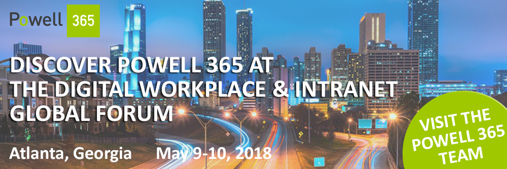 Digital Workplace & Intranet Global Forum 2018