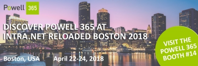 Powell 365 at Intra.NET Reloaded Boston