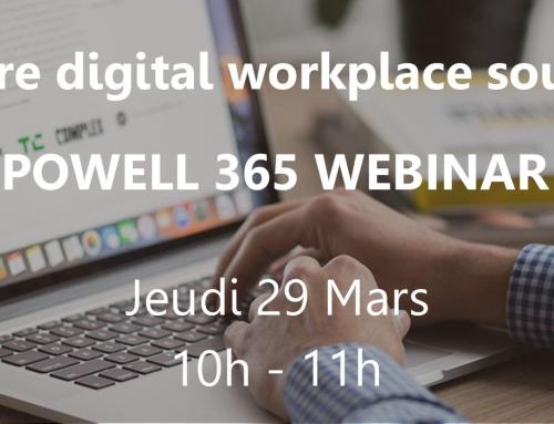Session rattrapage Webinar: Déployez votre digital workplace sous Office 365