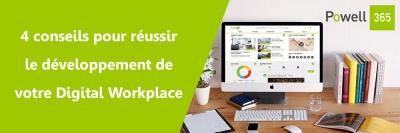 Réussir développement Digital Workplace FR