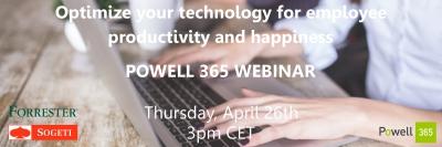 Webinar Optimize technology employee productivity happiness