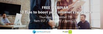 Tips to boost intranet relevance