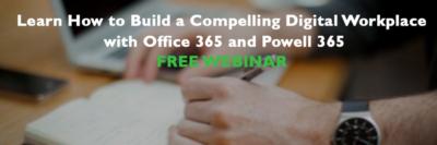 Compelling Digital Workplace webinar