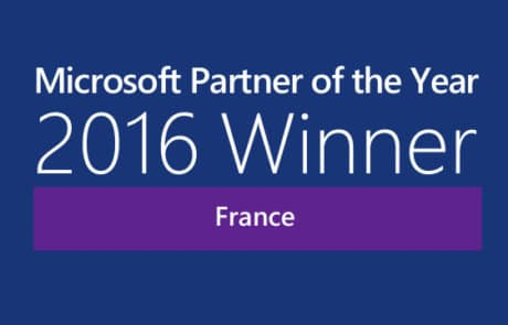 MS Partner of the Year 2016 France
