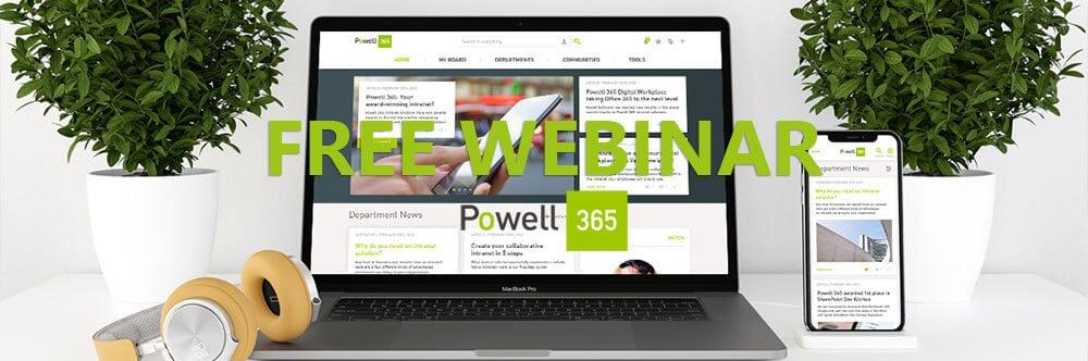 Powell 365 Webinar