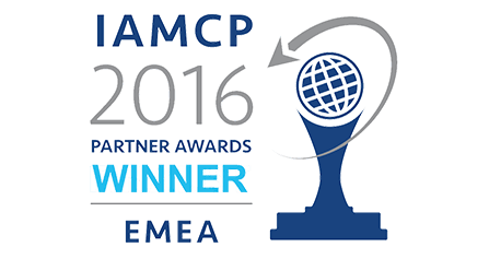 Digitaler Arbeitsplatz IAMCP 2016 Partner Awards Winner EMEA 2016