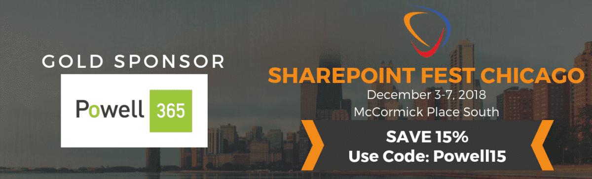 SharePoint Fest Chicago Sponsor