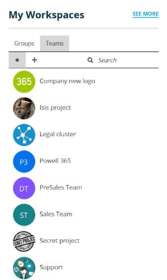 Microsoft Teams Sharepoint site feature