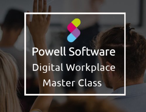Master Class Digital Workplace Powell Software
