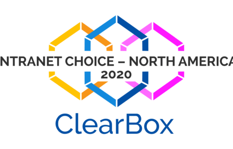 Digitaler Arbeitsplatz Clearbox Auszeichnung Intranet Choice North America 2020