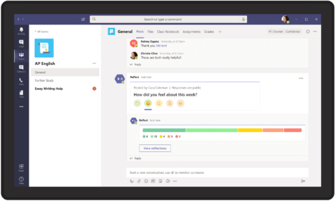 Microsoft Teams New Features Employee Wellbeing