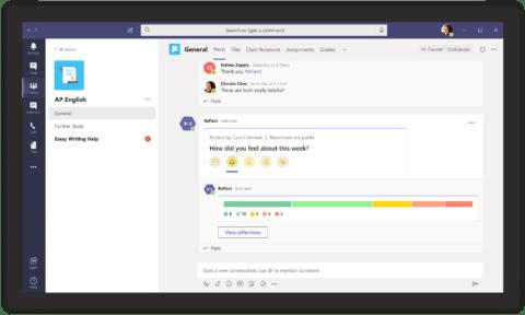 Microsoft Teams neuen Funktionen Wohlbefinden