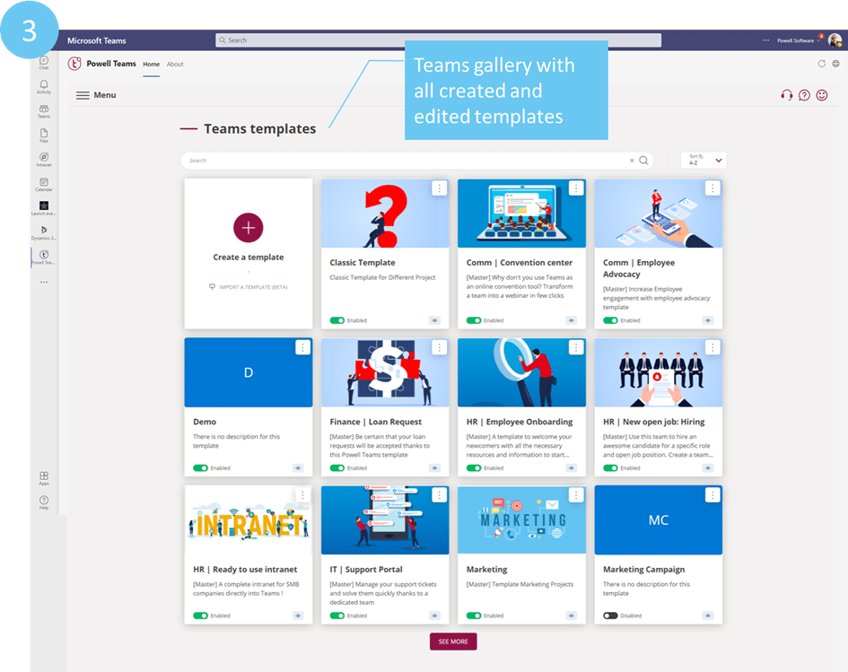 Microsoft Teams Templates