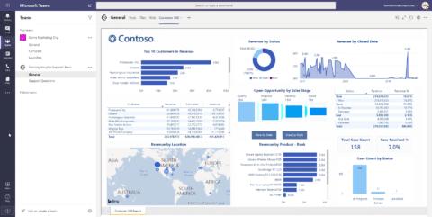 Power BI Microsoft Teams Integration