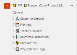 Sales RFP Templates