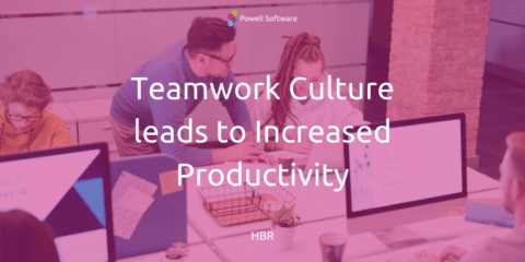 Teamwork culture leads to increased productivity