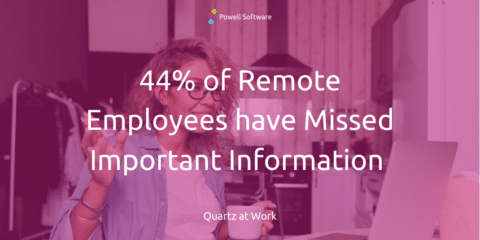 Manage Remote Employees Missing Important Info