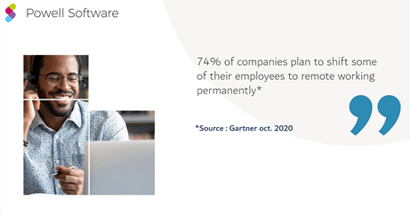 74% plan to move to remote work