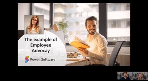 Employee Advocacy Powell software