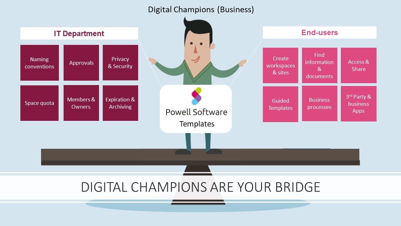 Governance digital champions