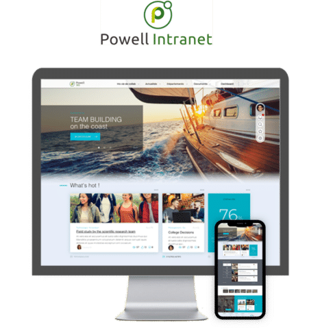 Powell Intranet Mobile