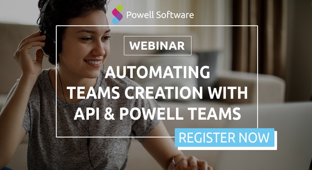 Teams Creation API Webinar