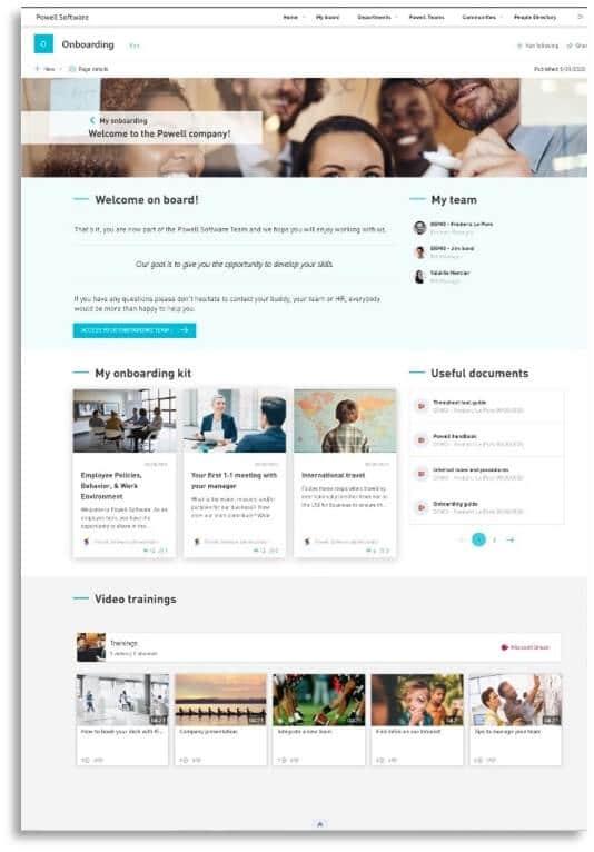 HR intranet