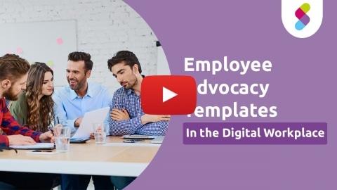 Employee advocacy template