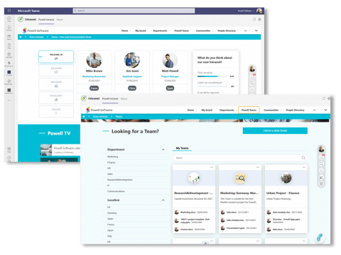 Connect employees & tools