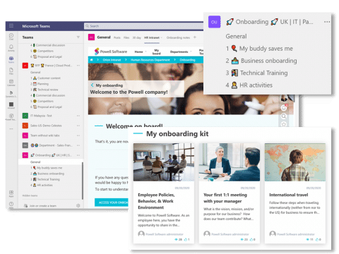 Remote employee onboarding experience