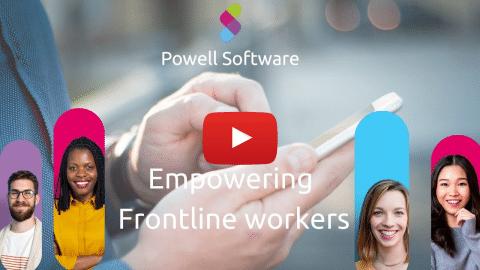 Frontline workers digital workplace mobile intranet app