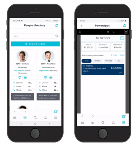 One digital workplace app and mobile intranet app
