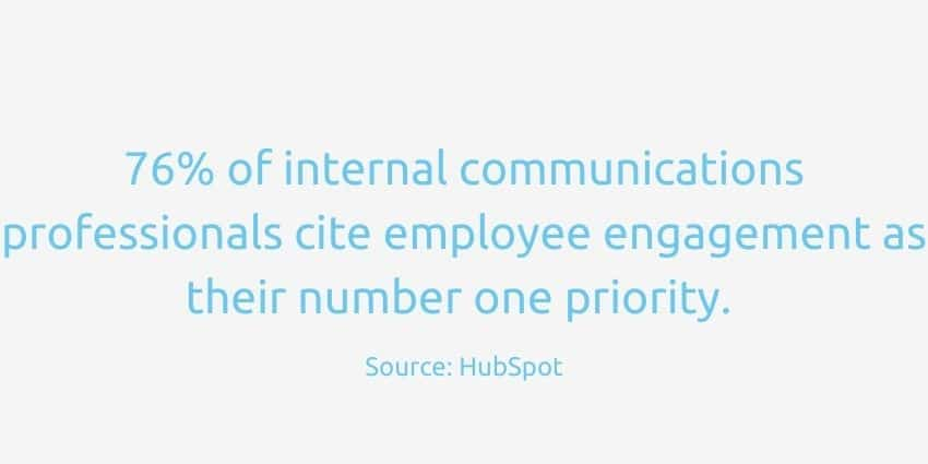 Internal communications employee engagement