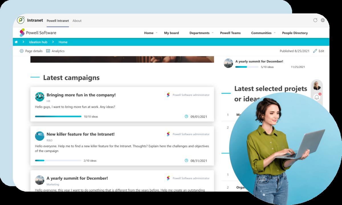 HR Employee Experience Platform