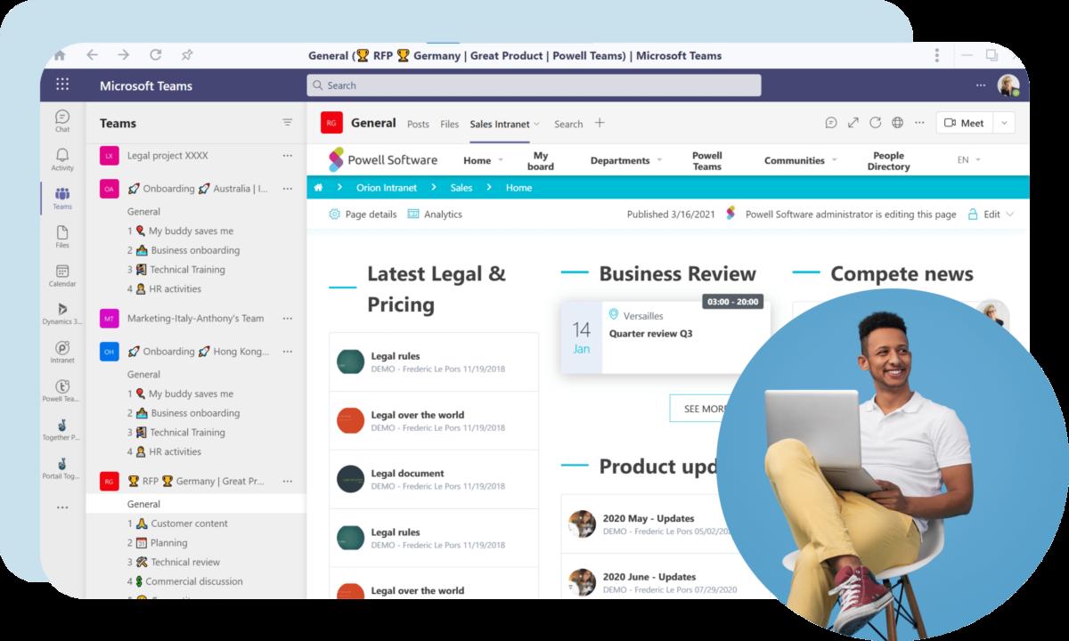 Sales digital Workplace
